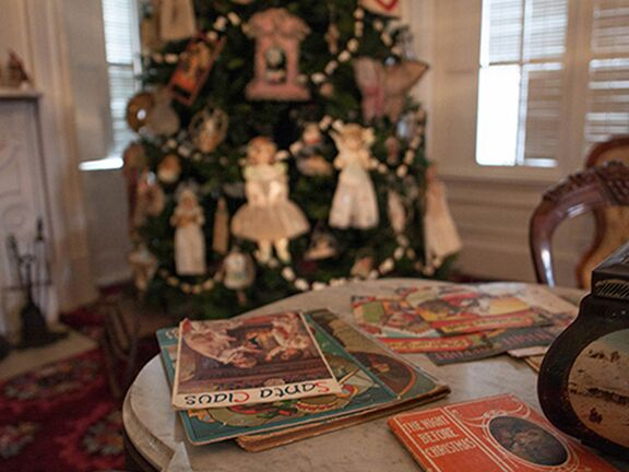 Holiday Tours of Lincoln Tallman House