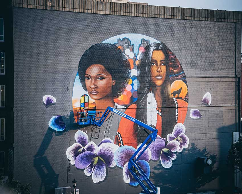 Janesville Murals